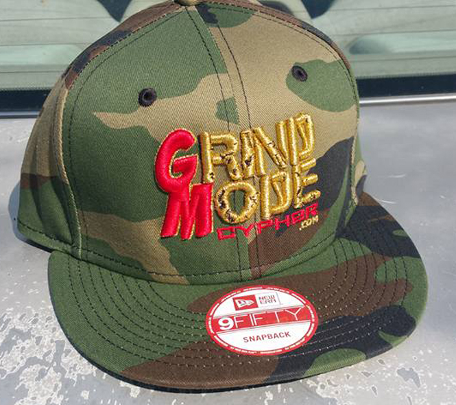 Camo Red Gold